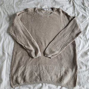 Chunky Knitted Sweater for Women Size XL